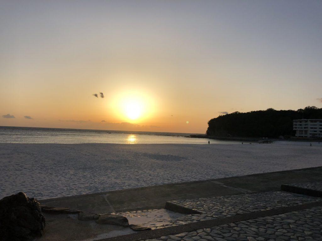 レンタルポケットwifiは白良浜の海岸沿いでも快適に使えました。